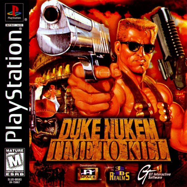 Duke Nukem - Time to Kill [U] Front Cover